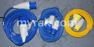 Selection of Extension Leads