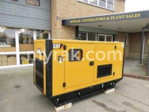 110 kVA Caterpillar DE110E2 Silent Diesel CAT C4.4 Engine