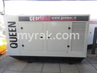 165 kVA Queen Genmac, bunded base, Iveco engine and sockets