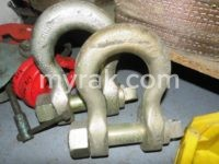 New & Used Shackles and Hooks Most Sizes Up to 50 Tonnes