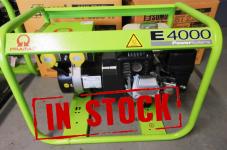 4 KVA PRAMAC E4000 PETROL HONDA ENGINE 110/240