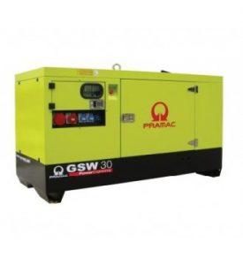 33 kVA GSW30 Pramac Silent Diesel Generator, Perkins Engine
