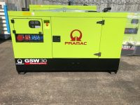 33 KVA PRAMAC GSW30 SILENT PERKINS ENGINE WITH SOCKETS, KEY START