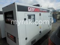 112 kVA Genmac Queen with Bunded Base, Iveco engine and sockets