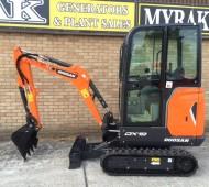 NEW Doosan DX19 now available ex stock - Myrak Generators