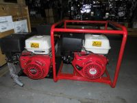 5.4 kVA Honda GX390 Petrol 110V Generators in Good Condition.