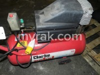 Clarke, Rebel 60, Year 2002, 110V Air Compressor