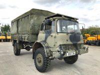 Year 1985 Bedford MJ330 Ex British Army.(4 wheel drive)