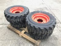 NEW tyres / wheels to suit Bobcat S450 skidsteer