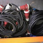 Selection of 5 Core HO7 Cables, 95mm Single Core Flexible Cables And Welding Cable 35mm & 50mm
