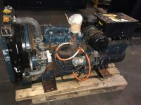 15 kVA Kubota Skid Mounted Open Set Single Phase