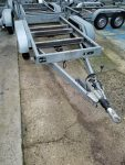 Used 2700Kgs Knott Twin Axle Trailer, Choice of 3