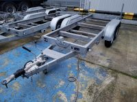 Used 3500Kgs Knott Twin Axle Trailers, Choice Of 4
