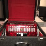 Piano Accordion, Parrot In As New Condition