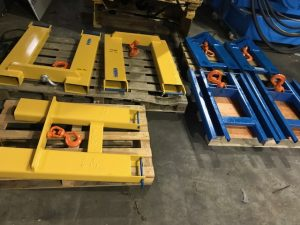 7 x Fork Mounted hook 3 Tonne And 5 Tonne To Convert Forklift To Mini Crane