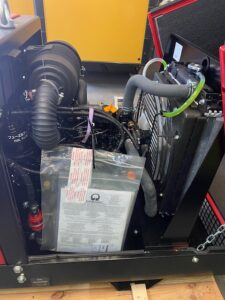 11 KVA PRAMAC P11000 SILENT THREE PHASE DIESEL YANMAR ENGINE