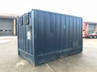 14ft x 8ft Steel Generator Container