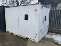 12ft x 8ft steel generator container