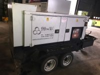 50 kVA Scorpion With Perkins Engine On Twin Axle Fast Tow Tailer