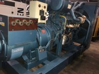 550/590 kVA Countryman Diesel Skid Mounted Open Generator With Rolls Royce CV12-450G Engine.