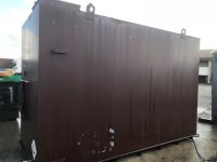 12750 Litre Metcraft Bunded Fuel Tank Double Skinned, As New Condition With Lifting Eye And Fork Lifting Facilities