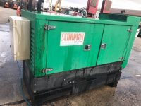 70 kVA Scorpion Silent Diesel Generator With Deutz Engine, Only 117 hours