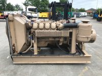 250 kVA Aggreko Open Set, Iveco Engine, Only 9 Hours