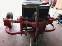 Rough Terrain Pallet Truck With Pump Up Wheels In Perfect Condition, 1200Kgs Lift