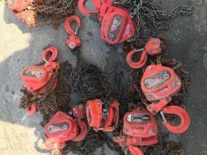 7 X 3 Ton 6M Tiger Chain Hoists