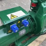 14 kVA Lister Skid Mounted Open Set With Sockets