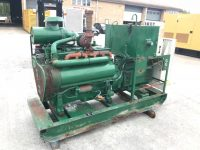 66 kVA Lister Skid Mounted Open Set, 80 Hours