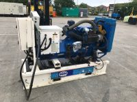 60 kVA FG Wilson Skid Mounted Open Set, Year 2003