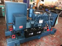 70 kVA Shannon Power Skid Mounted Open Set With Iveco Engine, Year 2004 (ONLY 458 hours)