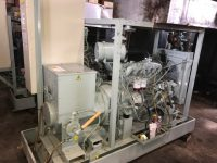 70 kVA Aries Skid Mounted Open Set With Iveco Engine, Year 2002 (295 hours)
