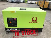 10 KVA PRAMAC GBW10 1500RPM PERKINS ENGINE