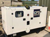 45 kVA CPS AP40/S-1PH Silent Diesel Generator With Perkins Engine, 1 Phase, Year 2017 And 2000 Hours
