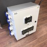 125Amp Distribution Box With Water Tight Sockets