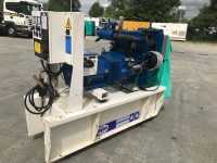 27 kVA FG Wilson P27 Skid Mounted Open Generator With Perkins Engine, Only 249 Hours