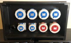 New 63Amp Polyethylene Enclosure Distribution Box