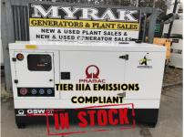 67 KVA PRAMAC FULL RENTAL SPEC SILENT DIESEL (Tier lllA Emissions Compliant)