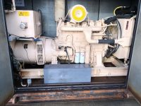 250 KVA DALE OPEN SKID MOUNTED DIESEL GENERATOR WITH VOLVO ENGINE (353 hours)