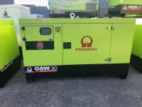 33KVA PRAMAC SILENT DIESEL GENERATOR WITH PERKINS ENGINE AND AUTO PANEL