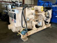 250KVA PRIME POWER DALE OPEN SKID MOUNTED DIESEL GENERATOR WITH VOLVO ENGINE ONLY 353 hours