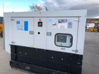 110 kVA Scorpian Silent Diesel Generator with Iveco Engine, only 32 hours