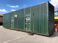 880 KVA FG WILSON SILENT DIESEL GENERATOR IN 40FT SUPER SILENT CONTAINER. ONLY 151 HOURS