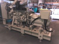 250 kVA Countryman Open Generator with Volvo engine, Year 2000. 124 hours