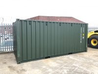 NEW 20ft x 8ft STEEL CERTIFIED SHIPPING CONTAINERS