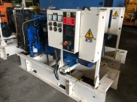 65KVA FG WILSON SKID MOUNTED OPEN SET WITH PERKINS ENGINE, YEAR 2008