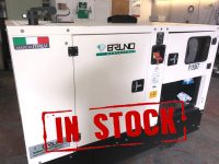 25 KVA PRIME POWER BRUNO 1 PHASE SILENT DIESEL GENERATOR WITH CUMMINS ENGINE. GX30C