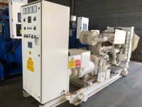 220KVA DAWSON KEITH WITH BIGCAM ENGINE SKID MOUNTED OPEN SET ONLY 58 HOURS